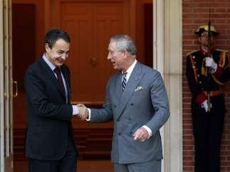 Carlos de Inglaterra y Zapatero