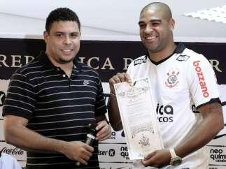 Ronaldo y Adriano
