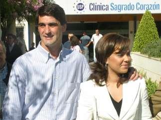 María José Campanario y Jesulín