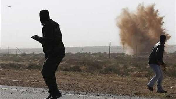 Explosión en Libia