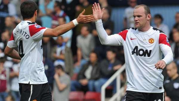 Rooney y Chicharito