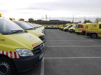 Ambulancias del SUMMA 112