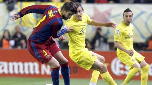 Gerard Piqué ante el Villarreal
