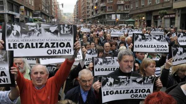 Piden la legalización de Sortu