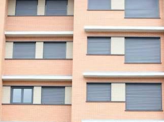 Fachada de un edificio de viviendas