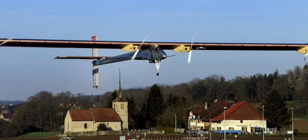 Un avión solar