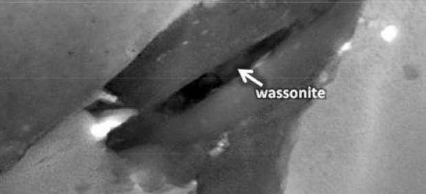 La Nasa descubre la wassonita