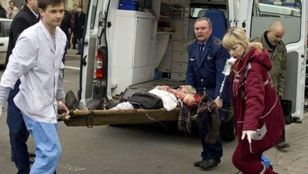 Explosión en Minsk