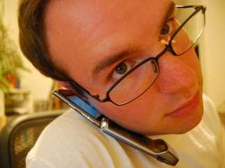 Llamando por el móvil