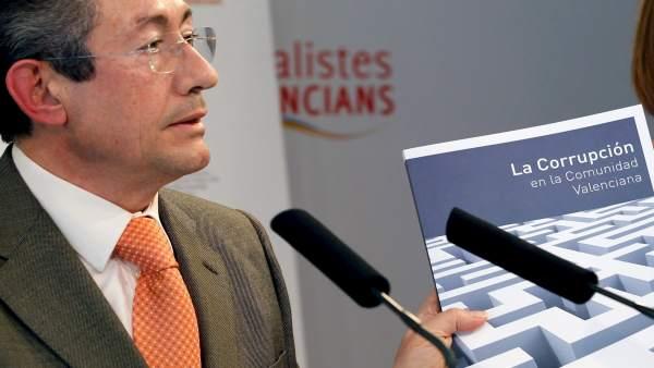 Ángel Luna, portavoz PSOE valenciano