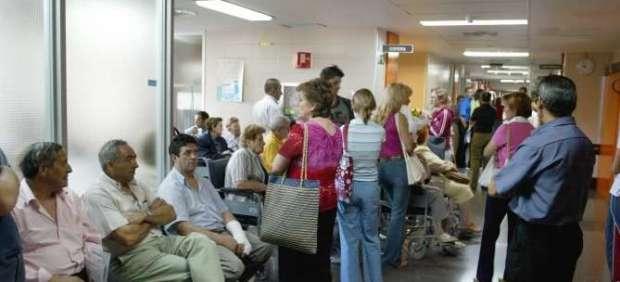 Sala de espera de un servicio de Urgencias.