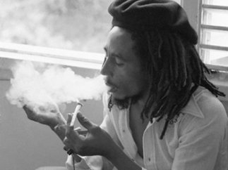 Fumando 'ganja'