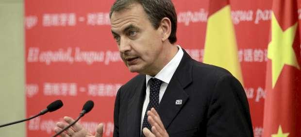 Zapatero en Pekín