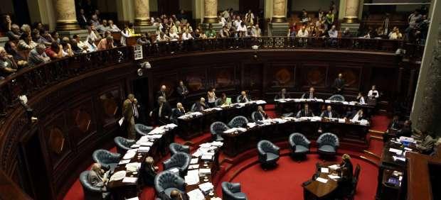 El senado uruguayo