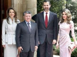 Almuerzo en el Palacio Real de Ammán