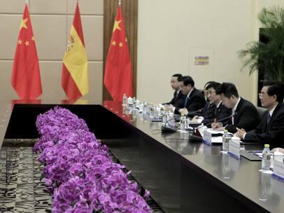 Cumbre entre España y China