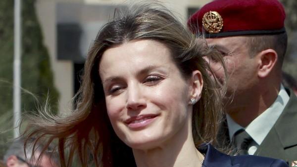 Doña Letizia en Jordania