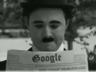 Google y Charles Chaplin