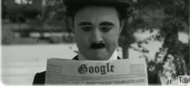 Google convierte su logo en un vídeo para homenajear a Chaplin