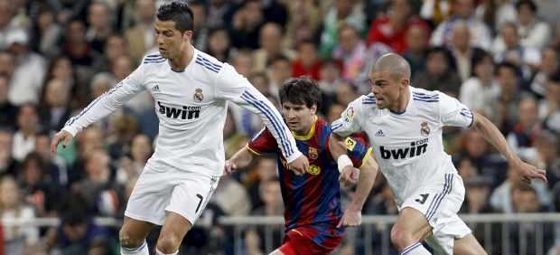 Cristiano Ronaldo, Messi y Pepe