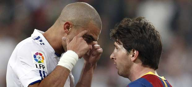 Messi y Pepe