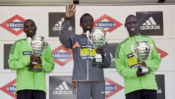 Campeón masculino en el maratón
