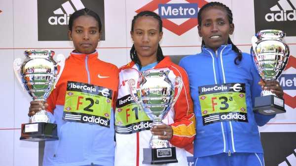 Campeona femenina del maratón