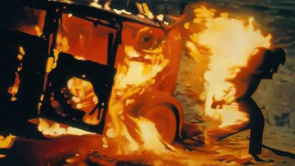 'Burning Man' ('Hombre ardiendo'), 1966