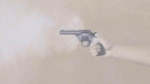 'Gun with Hand #1' ('Pistola con mano #1'), 1964