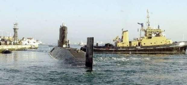 El submarino nuclear británio HMS Tireless