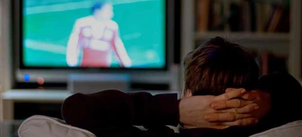 Viendo la televisi�n