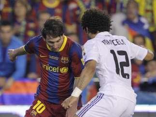 Marcelo y Messi