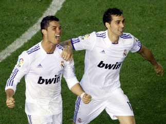 Celebrando la Copa del Rey
