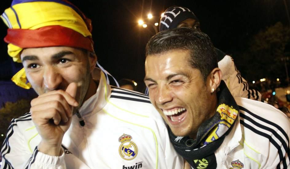 Ronaldo y Benzema
