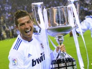 Cristiano, con la Copa