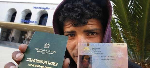 Un inmigrante tunecino