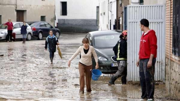 Inundaciones en Cebolla