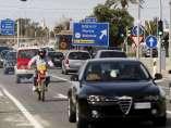 Carretera en Alicante