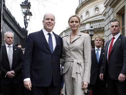 Alberto de Mónaco y Charlene Wittstock