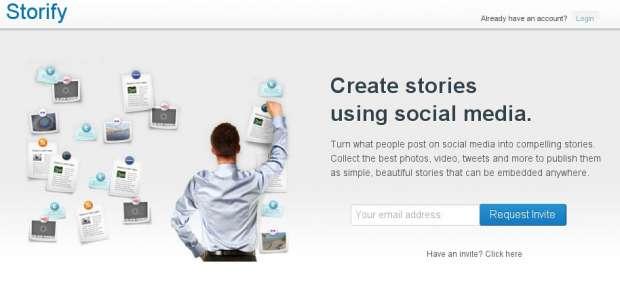 Storify, una herramienta para contar historias usando contenidos de las redes sociales