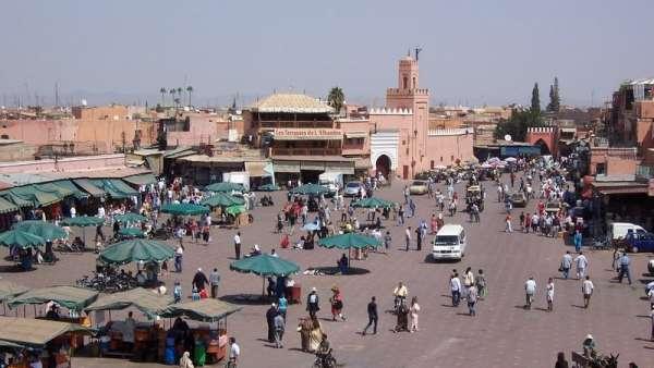 Plaza de Jamaa el Fnaa