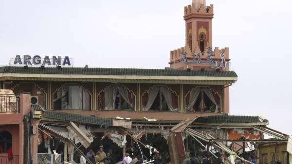 Explosión en Marrakech