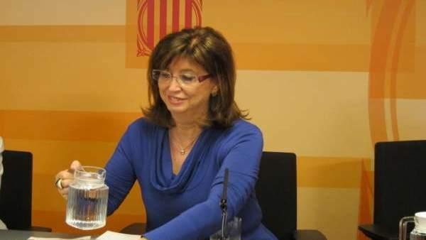 Irene Rigau, consellera de Enseñanza.
