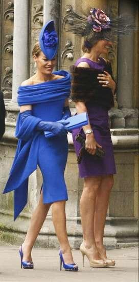 Vestidos de boda azul electrico