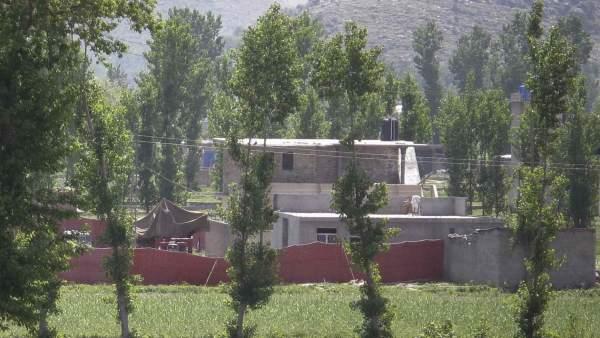 La casa-fortaleza en la que se escondía Bin Laden