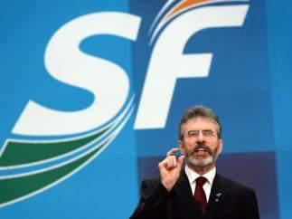 Gerry Adams, del Sinn Fein