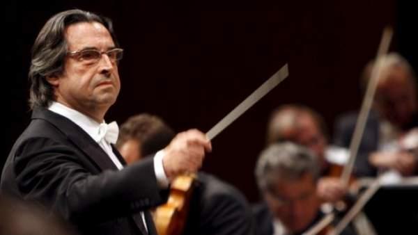 El director de orquesta Riccardo Muti