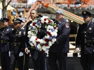 Barack Obama recuerda el 11-S