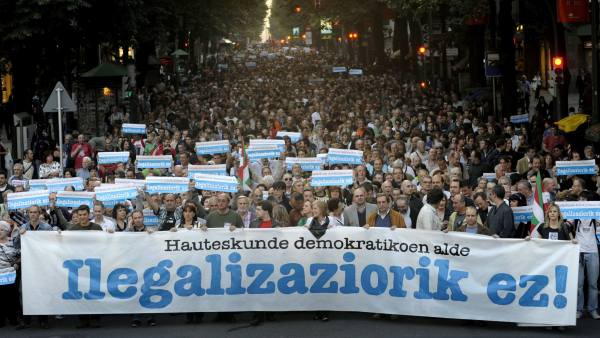 Manifestación por Bildu