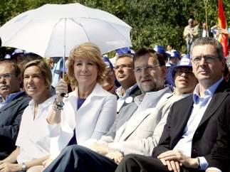 Rajoy, Aguirre y Gallardón